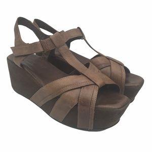 Antelope Platform Sandals Size 9